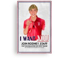 I Want You for Rodney Scout Reservation Canvas Print