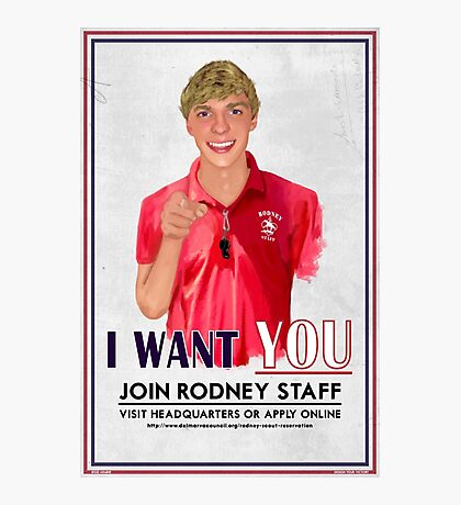 I Want You for Rodney Scout Reservation Photographic Print