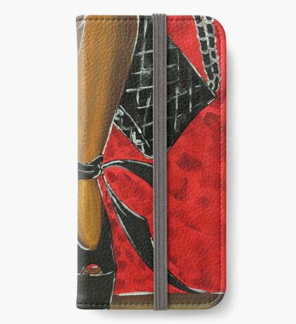 TWO STEPPING iPhone Wallet/Case/Skin