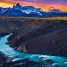 Dark River Canyon by Inge Johnsson