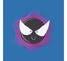 Cute Gastly Photographic Print