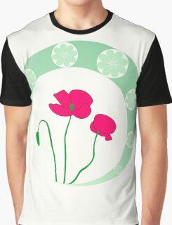 Poppies Graphic T-Shirt