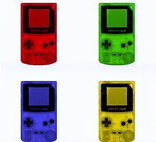 Gameboy Colour-Small by Ben Hamilton