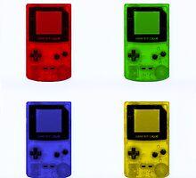 Gameboy Colour-Small by Ben Hamilton