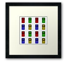 Gameboy Colour-Large Framed Print