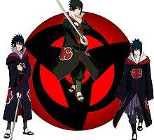 Uchiha Sasuke(Akatsuki) by KisukeMischa