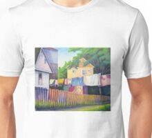 Backyard Laundry Unisex T-Shirt