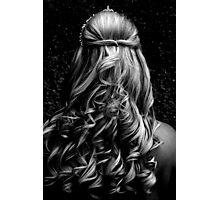 Wedding Curls Photographic Print