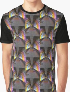 coloured tunnel Graphic T-Shirt