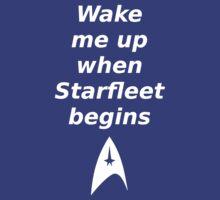 When Starfleet Begins by marawinchester