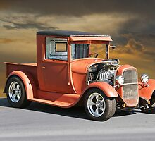1929 Ford Model A Pick-Up 'Prime Time' by DaveKoontz