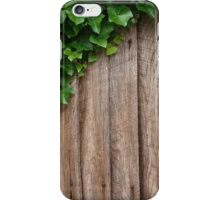 Ivy on boards iPhone Case/Skin