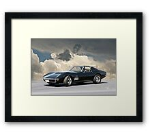 C3 Corvette Stingray Framed Print