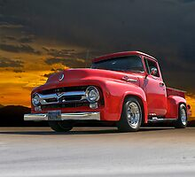 1956 Ford F100 Stepside I by DaveKoontz