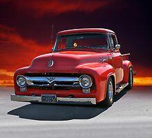 1956 Ford F100 Stepside II by DaveKoontz