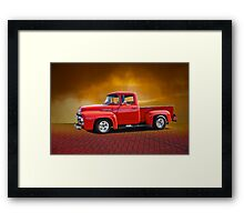 1956 Ford F100 Stepside III Framed Print