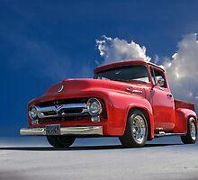 1956 Ford F100 Stepside V by DaveKoontz