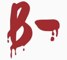 Blood Group B- Negative #Horror Hospital One Piece - Long Sleeve