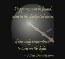 Harry Potter Happiness Quote by Nesstle66