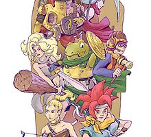 Chrono Trigger by Yiannisun
