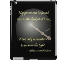 Harry Potter Happiness Quote iPad Case/Skin