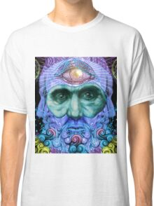 PSYCHEDELIC Old men Classic T-Shirt