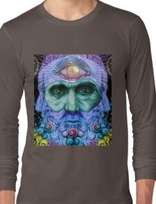 PSYCHEDELIC Old men Long Sleeve T-Shirt