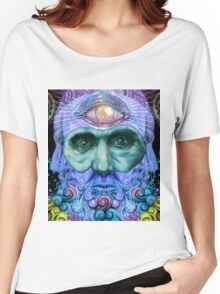 PSYCHEDELIC Old men Women's Relaxed Fit T-Shirt