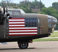 B-24 Liberator by Karl R. Martin