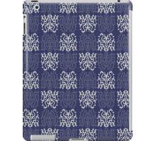 Pattern Navy Blue iPad Case/Skin