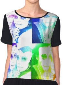 electric day of the undead Chiffon Top