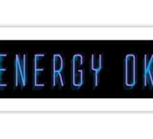 Energy OK Sticker