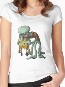 ZOMBIE Carlo Women's Fitted Scoop T-Shirt