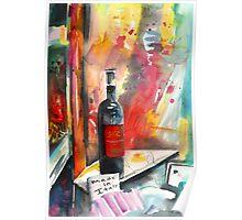 Alabastro Wine Poster