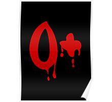 Blood Group O+ Positive #Horror Hospital Poster