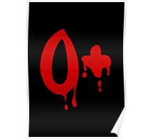 Blood Group O+ Positive #Horror Hospital Poster