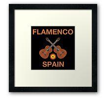 Flamenco spain Framed Print