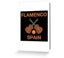 Flamenco spain Greeting Card