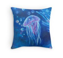 In The Deep Blue Sea Part 2 Throw Pillow