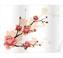 Cherry blossom II Poster