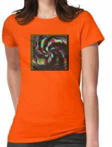 Acid 60's star Womens Fitted T-Shirt