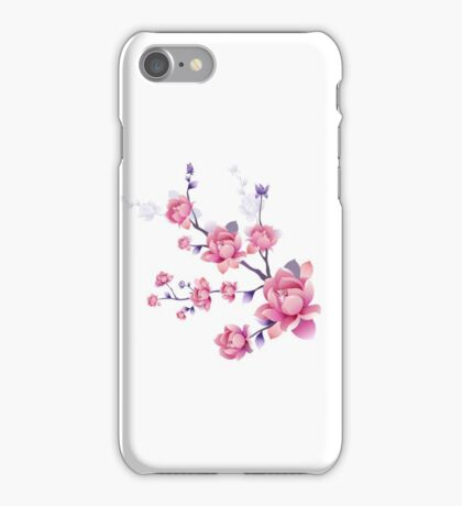 Cherry blossoms I iPhone Case/Skin