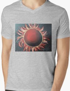 Sun Mens V-Neck T-Shirt