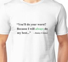 I Will Always Do My Best Unisex T-Shirt