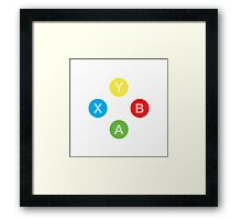 Controller - Xbox Framed Print