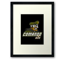 Comando Elite Framed Print