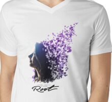 Root Person Of Interest POI Mens V-Neck T-Shirt