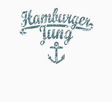 Hamburger Jung Anker Vintage Dunkel Unisex T-Shirt