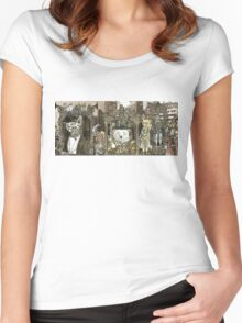Steampunk City Women's Fitted Scoop T-Shirt
