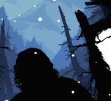 Jon Snow - King of The North Sticker